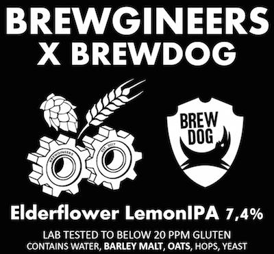 Elderflower lemon IPA